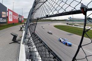 Renn-Action auf dem Kansas Speedway