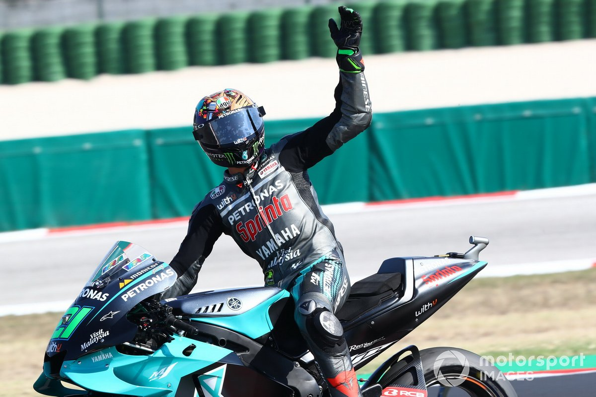 Ganador Franco Morbidelli, Petronas Yamaha SRT