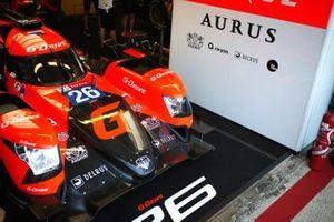 #26 G-Drive Racing Aurus 01 - Gibson: Roman Rusinov, Jean-Eric Vergne, Mikkel Jensen