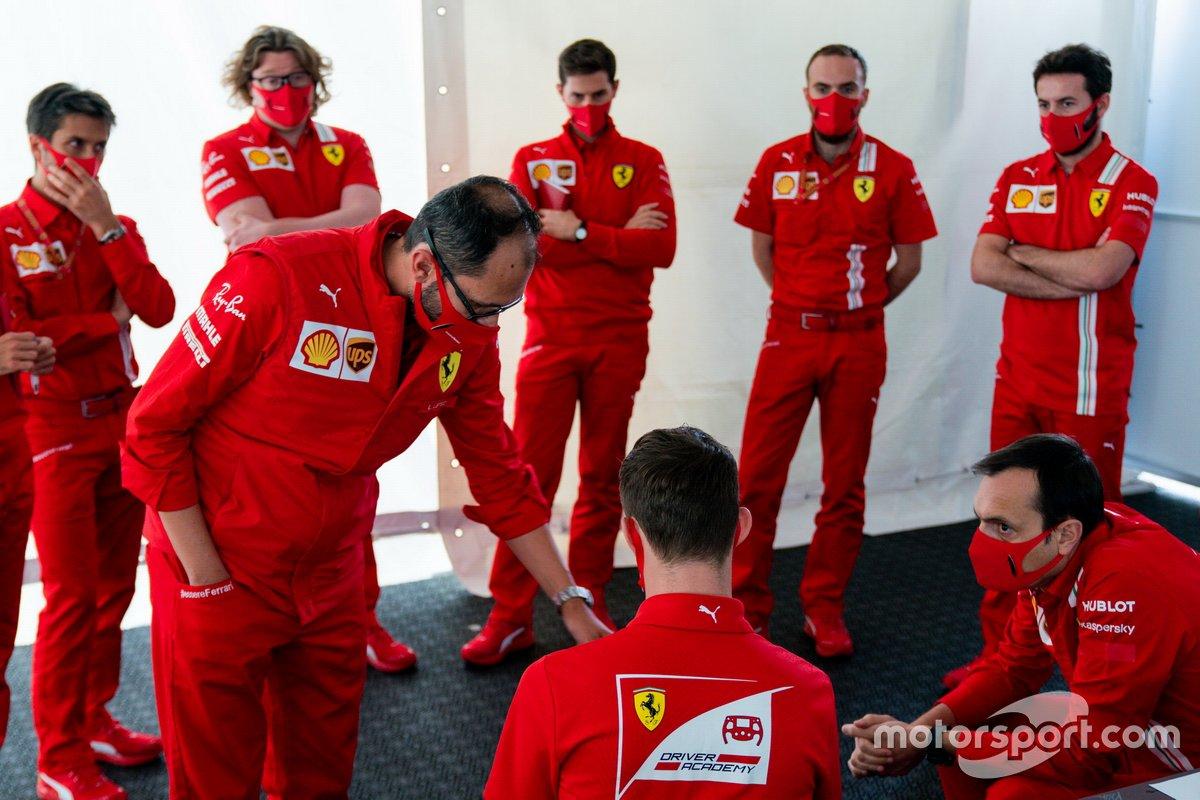 Callum Ilott, Ferrari Sürücü Akademisi