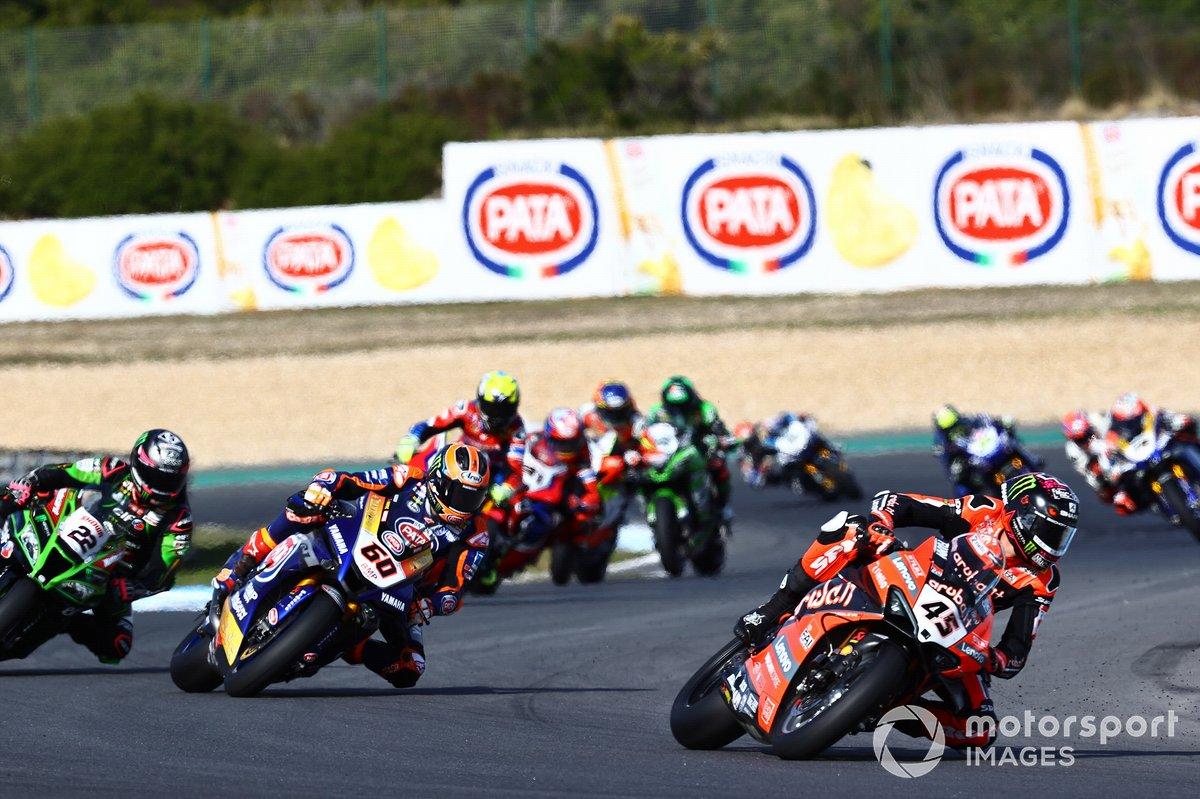 Scott Redding, Aruba.it Racing Ducati, Michael van Der Mark, Pata Yamaha, Alex Lowes, Kawasaki Racing Team