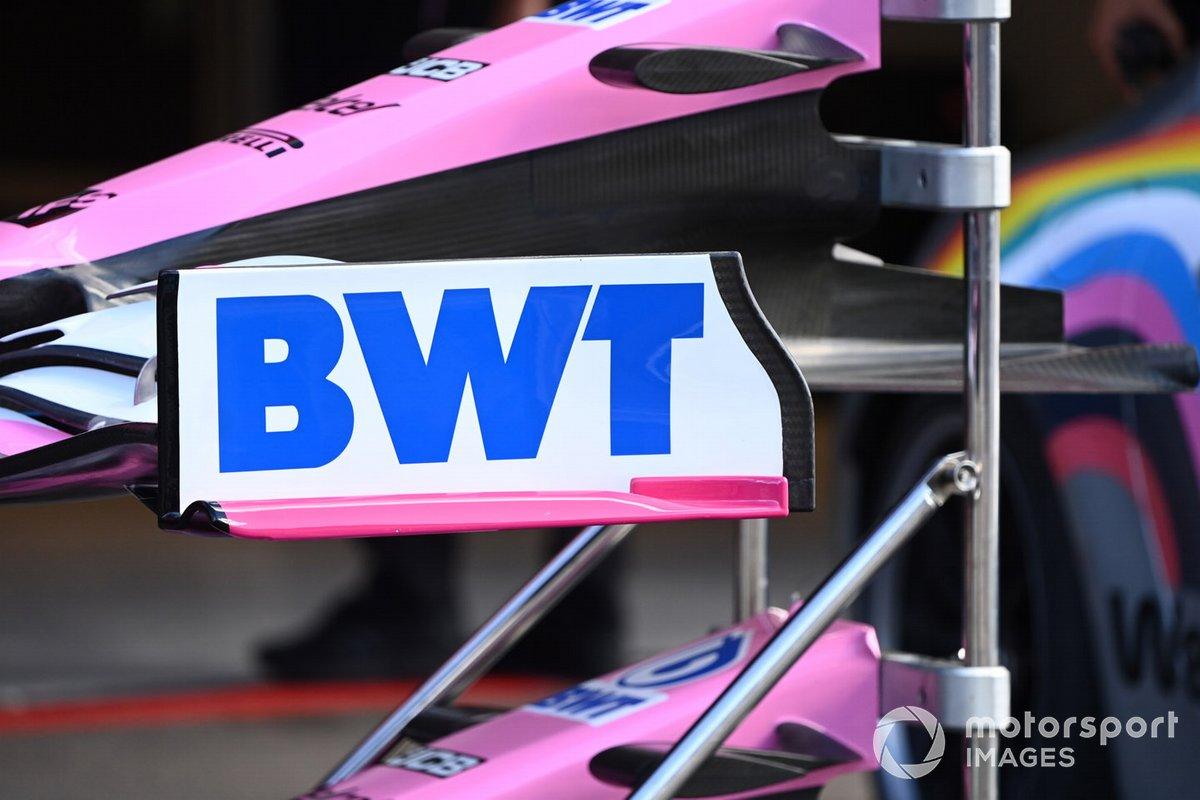 Detalles técnicos del Racing Point