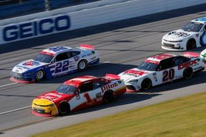 Michael Annett, JR Motorsports, Chevrolet Camaro Pilot Flying J, Austin Cindric, Team Penske, Ford Mustang