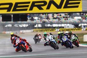 Leon Haslam, Team HRC, Eugene Laverty, BMW Motorrad WorldSBK Team