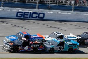 Raphael Lessard, Kyle Busch Motorsports, Toyota Tundra Canac, Stewart Friesen, Halmar Friesen Racing, Toyota Tundra Halmar Racing To Beat Hunger, Ben Rhodes, ThorSport Racing, Ford F-150 Tenda Products, Trevor Bayne, Niece Motorsports, Chevrolet Silverado Plan B Sales
