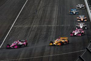 Jack Harvey, Meyer Shank Racing Honda, Ryan Hunter-Reay, Andretti Autosport Honda, Marco Andretti, Andretti Herta with Marco & Curb-Agajanian Honda