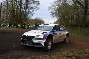 Simon Wagner, Anne Katharina Stein, Skoda Fabia Rally2 evo