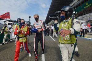 Winner Brendon Hartley, Toyota Gazoo Racing