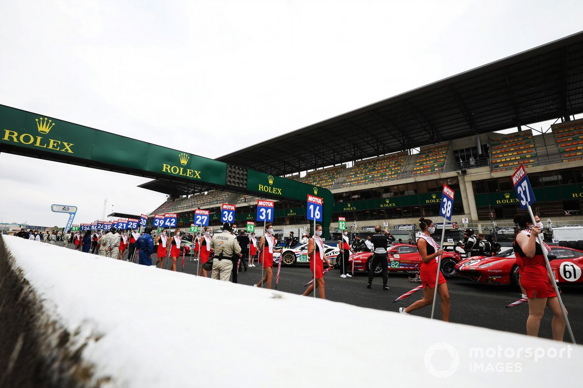 Parrilla de las 24h de Le Mans