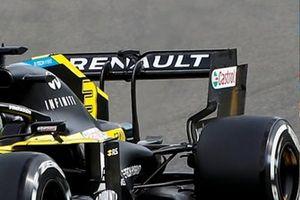 Daniel Ricciardo, Renault F1 Team R.S.20 rear wing detail