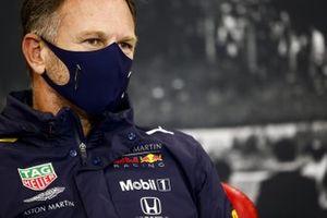 Christian Horner, Team Principal, Red Bull Racing in conferenza stampa