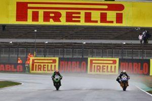 Andrea Locatelli, BARDAHL Evan Bros. WorldSSP Team, Lucas Mahias, Kawasaki Puccetti Racing