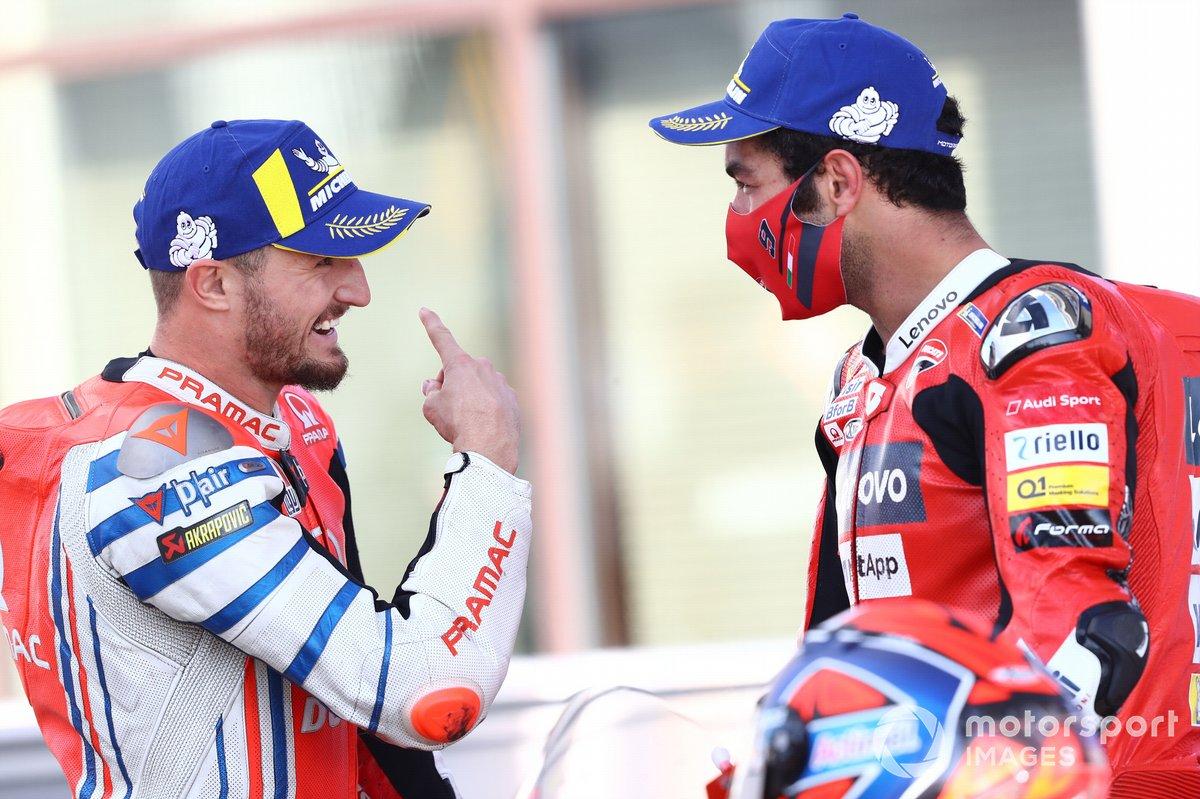 Jack Miller, Pramac Racing Danilo Petrucci, Ducati Team