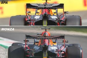 Red Bull Racing RB16 rear view