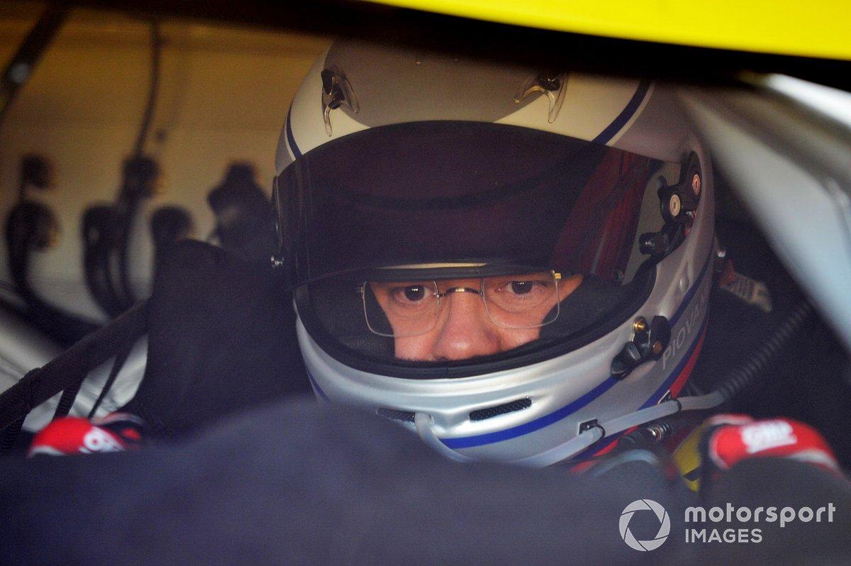 #61 Luzich Racing Ferrari 488 GTE Evo: Francesco Piovanetti