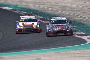 Michele Imberti, Elite Motorsport, Cupra TCR e Francesca Raffaele, BF Motorsport, Audi RS 3 LMS TCR