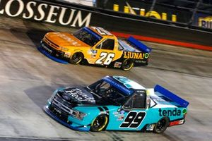 Ben Rhodes, ThorSport Racing, Ford F-150 Tenda Heal, Tyler Ankrum, GMS Racing, Chevrolet Silverado Liuna