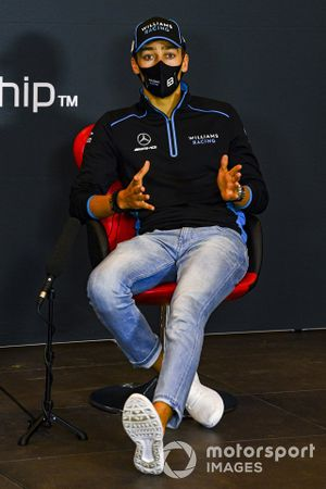 George Russell, Williams Racing, in a Press Conference