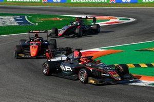 Enzo Fittipaldi, HWA Racelab, Lukas Dunner, MP Motorsport and Pierre-Louis Chovet, Hitech Grand Prix