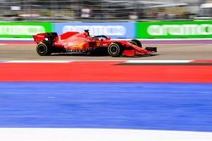 Sebastian Vettel, Ferrari SF1000 on track