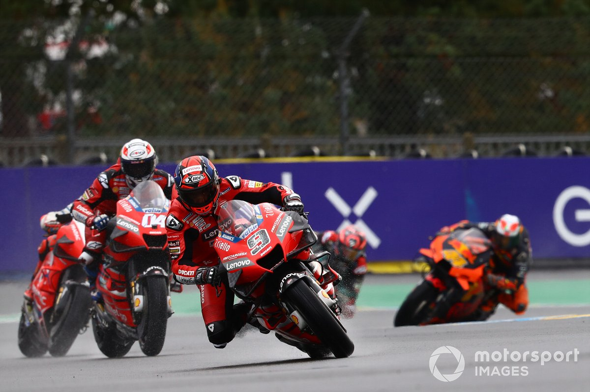 Danilo Petrucci, Ducati Team, Andrea Dovizioso, Ducati Team, Jack Miller, Pramac Racing