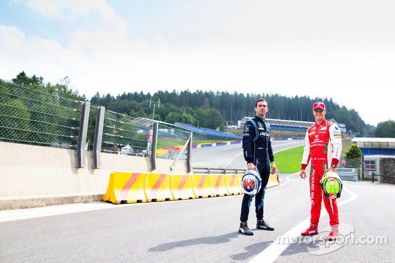 Nicholas Latifi, Dams and Mick Schumacher, Prema Racing