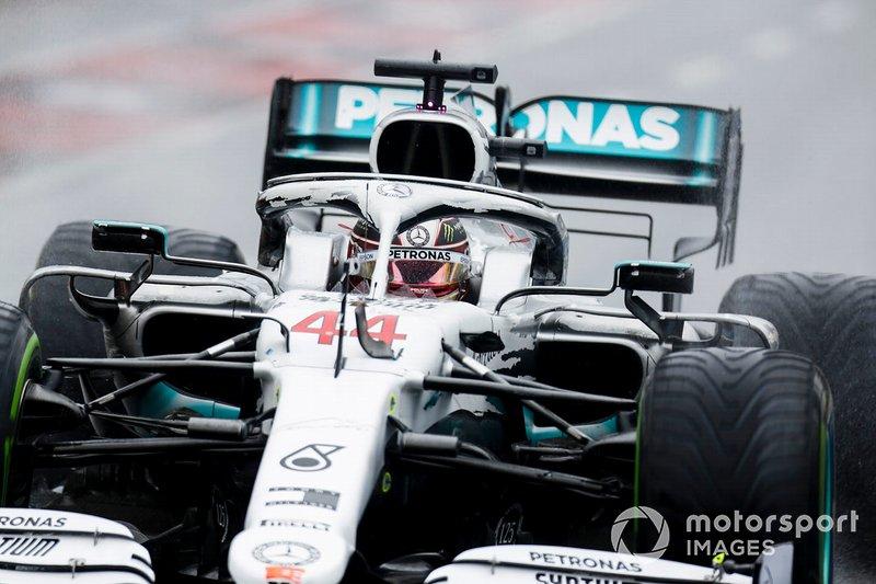 9. Lewis Hamilton, Mercedes AMG F1 W10