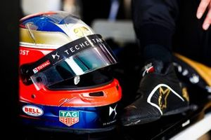Helmet of Jean-Eric Vergne, DS TECHEETAH