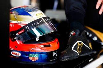 Le casque de Jean-Eric Vergne, DS TECHEETAH