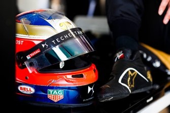 Helmet of Jean-Eric Vergne, DS TECHEETAH