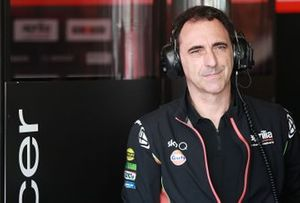Romano Albesiano, directeur technique, Aprilia Racing Team Gresini
