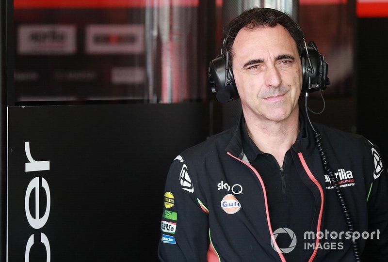 RomanoAlbesiano, direttore tecnico Aprilia Racing Team Gresini