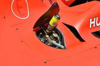 Fuel filler on Ferrari SF90