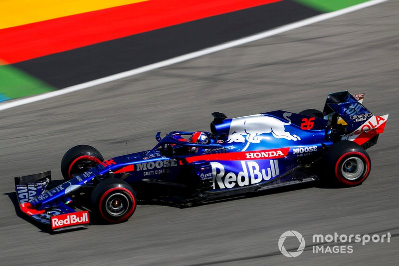2019 - Toro Rosso, Daniil Kvyat