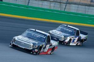 Harrison Burton, Kyle Busch Motorsports, Toyota Tundra Safelite AutoGlass Todd Gilliland, Kyle Busch Motorsports, Toyota Tundra Mobil 1