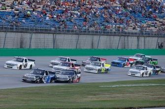 Tyler Ankrum, DGR-Crosley, Toyota Tundra Academy Sports + Outdoors / RAILBLAZA Harrison Burton, Kyle Busch Motorsports, Toyota Tundra Safelite AutoGlass