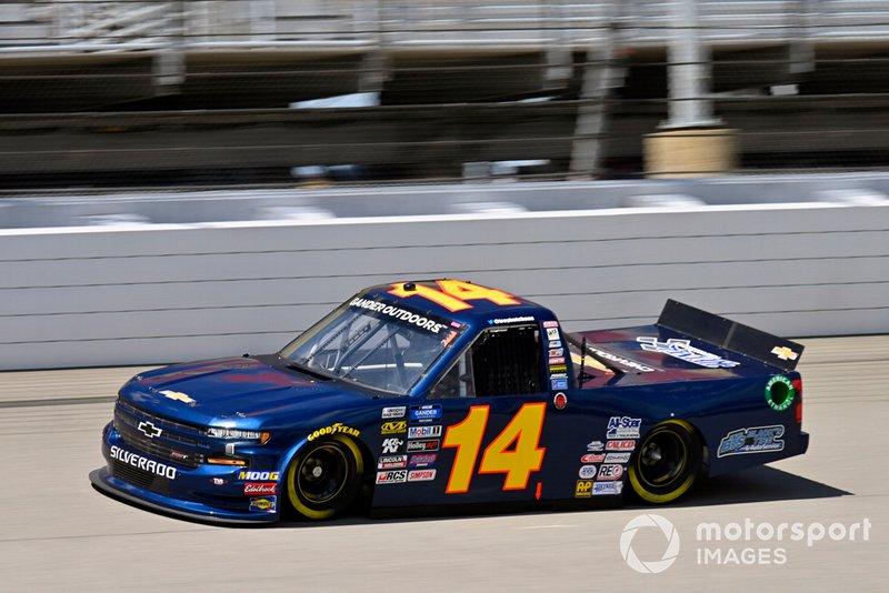 Trey Hutchens III, Trey Hutchens Racing, Chevrolet Silverado Black's Tire
