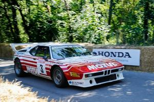 A BMW M1 Rallye, driven in period by Bernard Beguin
