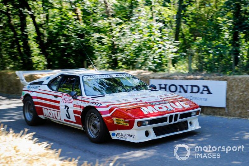 A BMW M1 Rallye, driven in period by Bernard Beguin