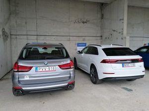 Los autos con los que llegaron los pilotos de Racing Point a Hungaroring