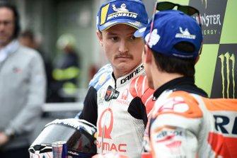 Polesitter Marc Marquez, Repsol Honda Team, 2. Jack Miller, Pramac Racing