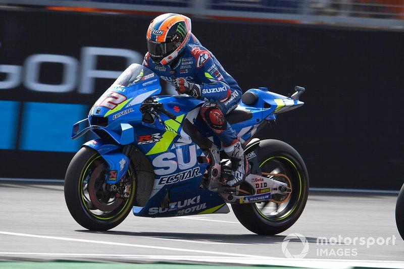 Ganador GP de Gran Bretaña - Alex Rins, Team Suzuki MotoGP