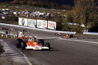 Race winner James Hunt, McLaren Cosworth M23
