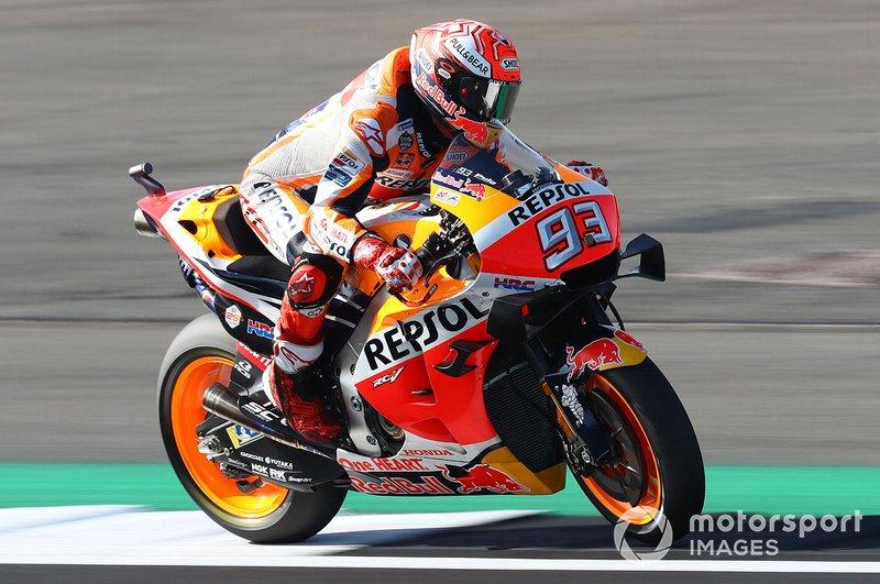Los seis títulos de Márquez en MotoGP fueron con Honda. Por lo tanto, rompió el récord de la marca japonesa, con los que Mick Doohan consiguió cinco mundiales.