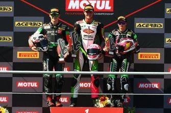 Manuel Gonzalez, Kawasaki, Scott Deroue, Kawasaki, Ana Carrasco, Provec Racing