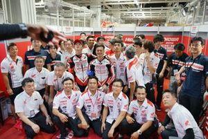 Andi Gilang, Zaqhwan Zaidi, Teppei Nagoe, Honda Asia-Dream Racing with SHOWA