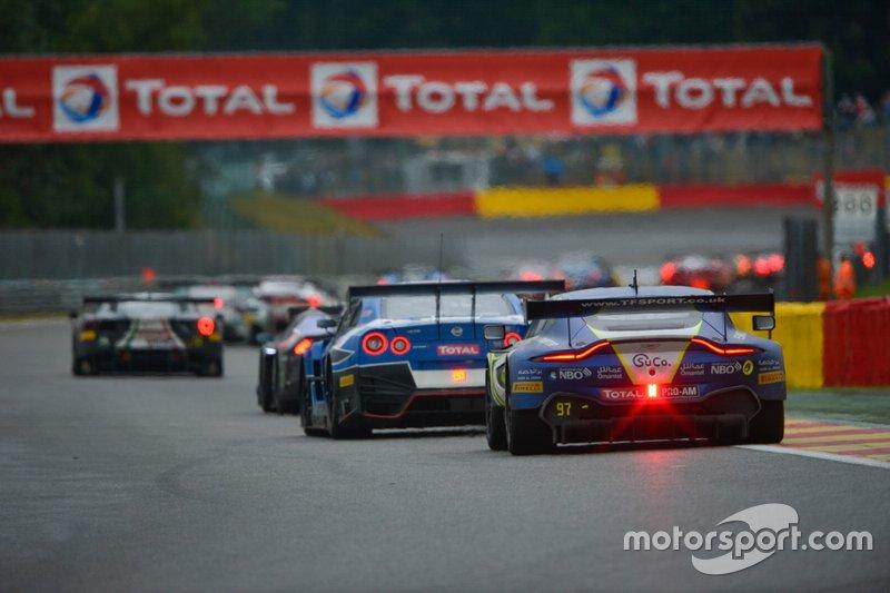 #97 Oman Racing with TF Sport Aston Martin Vantage AMR GT3: Salih Yoluc, Ahmad Al Harthy, Charlie Eastwood, Nicki Thiim