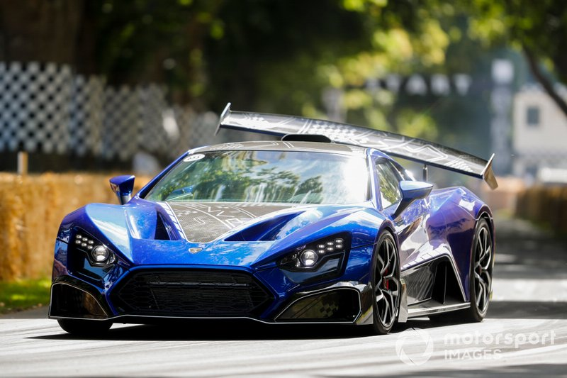 Zenvo TSR-S with Active Rear Wing Movement