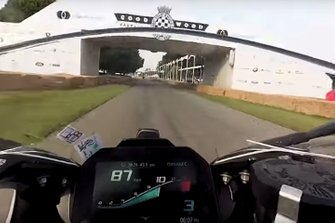 Goodwood bike view