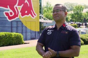 David Tsurusaki,Global Motorsport Technology Manager, ExxonMobil.